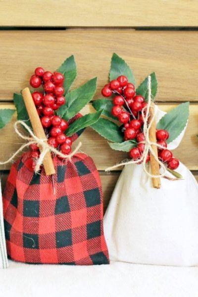 Holiday Cookie Gift Sacks