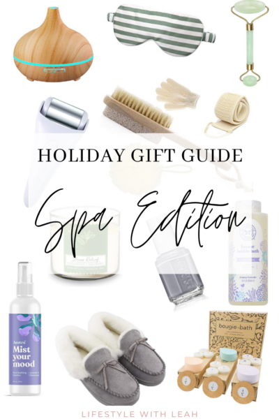 Holiday Gift Guide Spa Edition