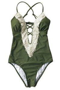 vintage lace bathing suit
