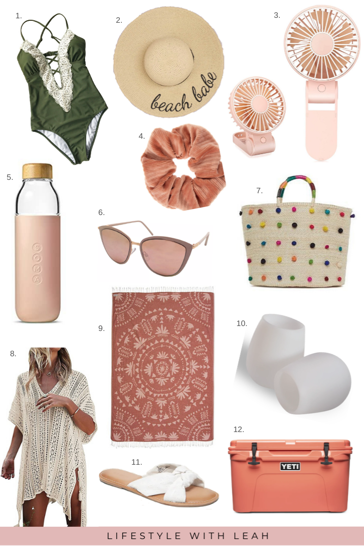 beach essentials for perfect summer vacation