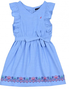 Nautica Dress Fourth of July Outfits for Little Girls