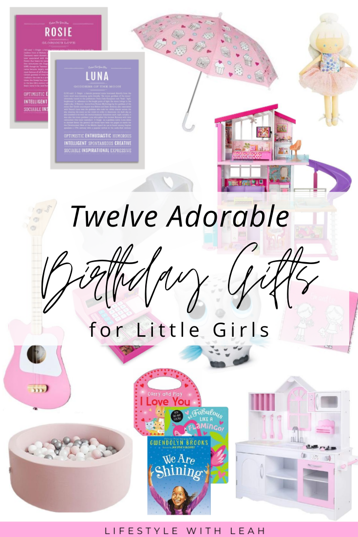 Adorable Birthday Gifts for Girls
